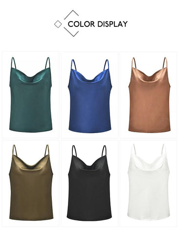 Sleeveless Camisole Casual Basic Tops