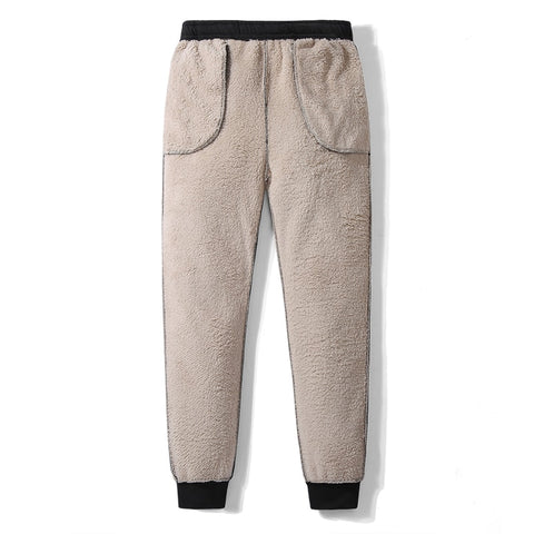Thicken Velvet Padded Trousers