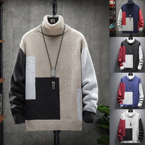 Turtleneck Wool Pullover Sweaters