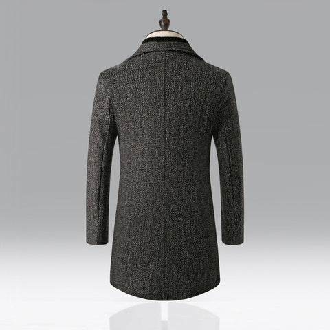 Design Wool Warm Thick Trench Coat