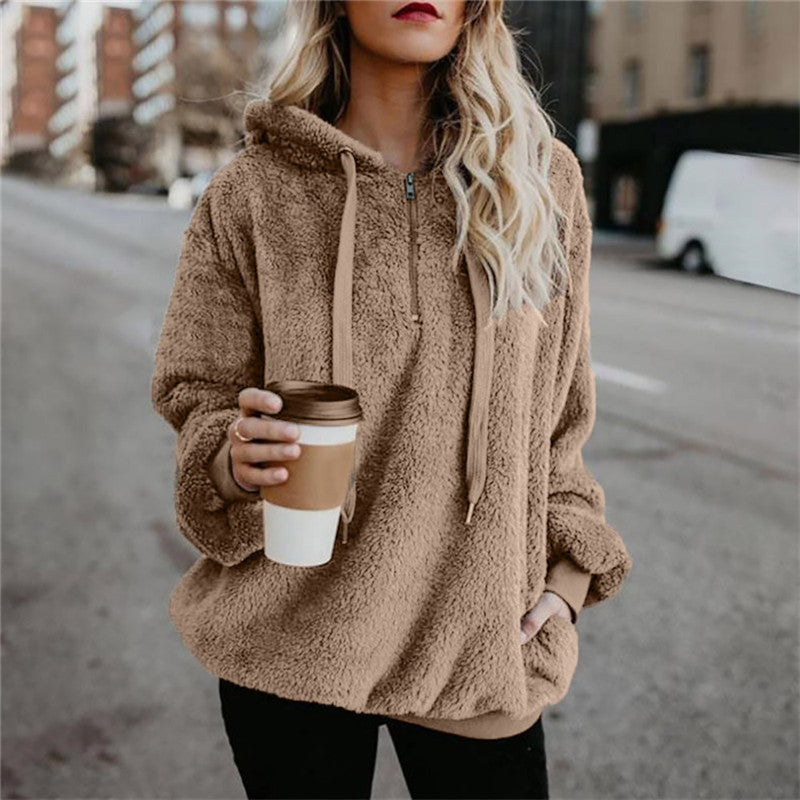 Stylish Cozy Plush Hoodies