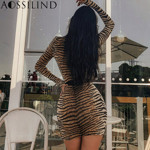 Long Sleeve Sexy Mini Dress