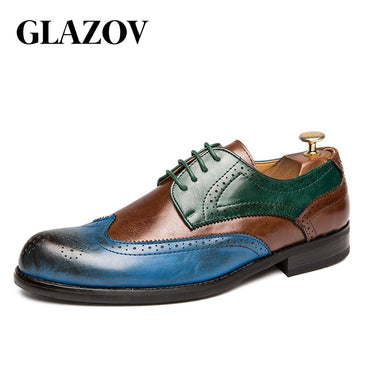 British Green Blue Shoes