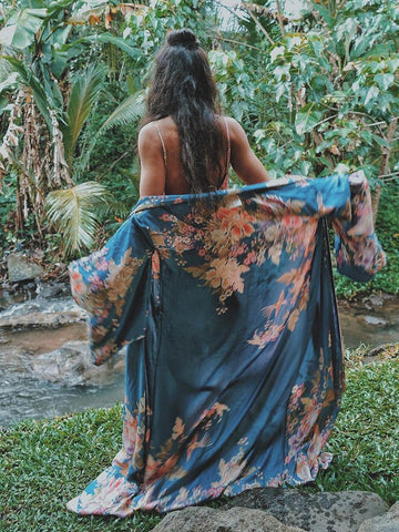 Waterfall Maxi Duster Boho Long Jacket Cardigan