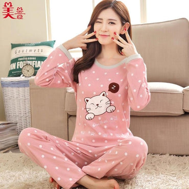 Cotton Loungewear Pyjamas Sleepwear