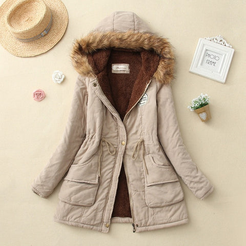 Casual Outwear Military Hooded Jacket