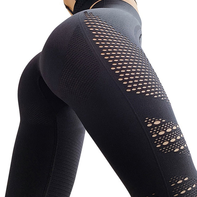 Yoga Pants seamless cutout leggings