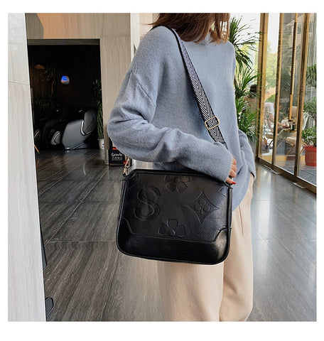High Quality Leather Tote Messenger Bag