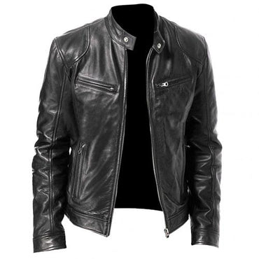Fashion Motorcycle Leather Jacket