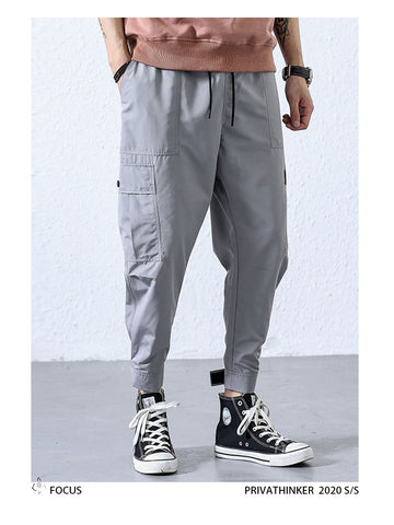 Big Pockets Ankel Cargo Pants