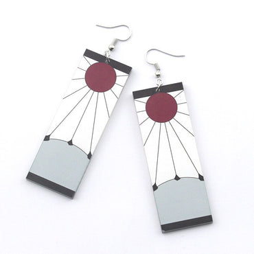 Anime Acrylic Dangle Earrings