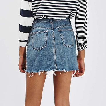 A-Line Jeans Skirt