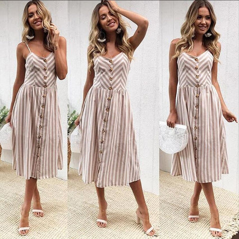 Sexy Beach Long Boho Dress