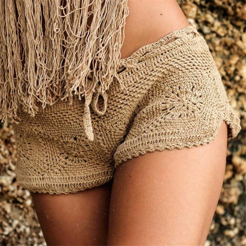 Knit Crochet Shorts
