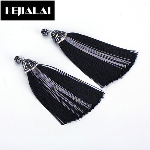 Tassel Earrings Bohemian Accessories