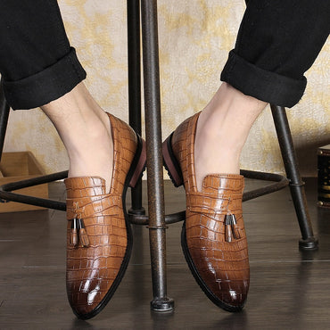 Pu Leather Oxfords Dress Shoes