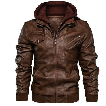 Motorcycle Removable Leather Jackets