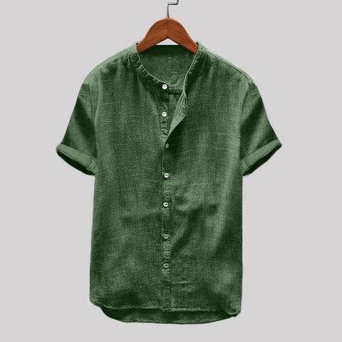 New Cotton Linen Shirt