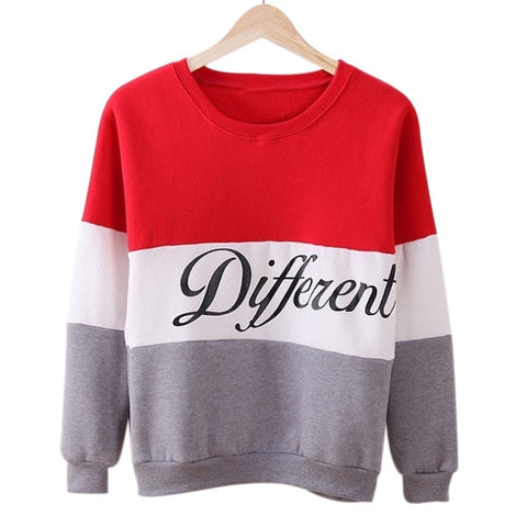 Fleece Tracksuits Long Sleeve O-neck Pullover Tops