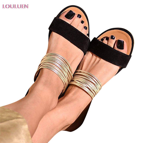 Leisure Rome Flat Shoes
