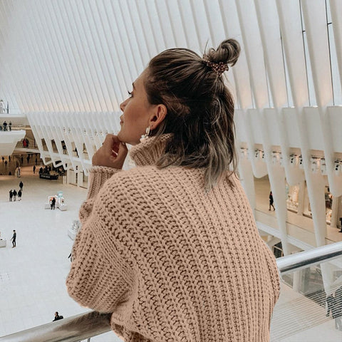 Knitted Loose Fashion Sweater