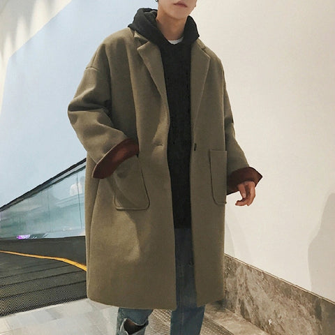 Fashion Thick Warm Blend Coat
