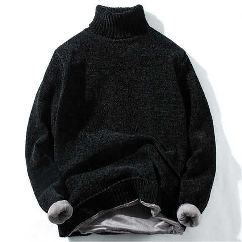 High Quality Warm Turtleneck Sweater
