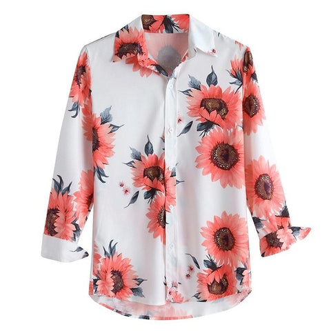 Fashion Personality Casual Slim Long-Sleeved Shirt