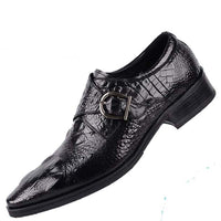Crocodile pattern breathable fashion shoes