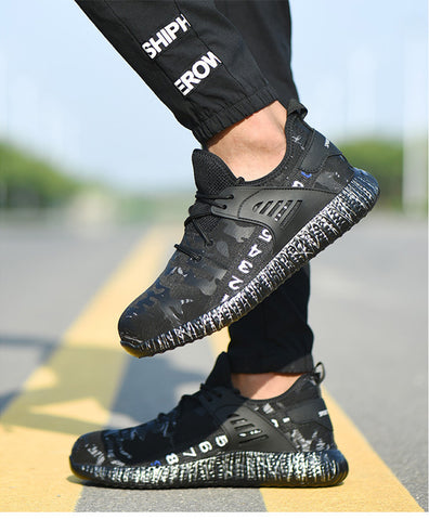 Work Safety Boot Air Mesh  Shoes