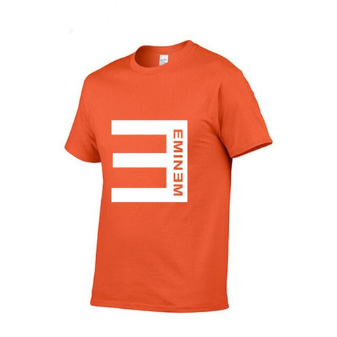 New Solid color printing T Shirt