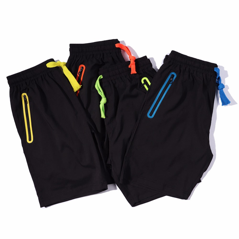 Zipper Pocket Shorts