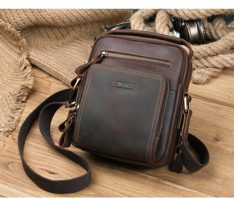 Cow Leather Shoulder Messenger Bags