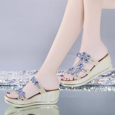 Bling Crystal Casual Sandals