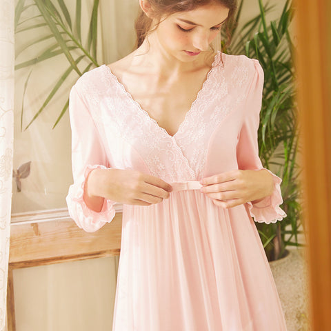 Sweet Princess Style Palace Nightwear