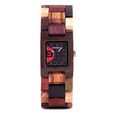 25mm Small Wooden Quartz Wrist Watch