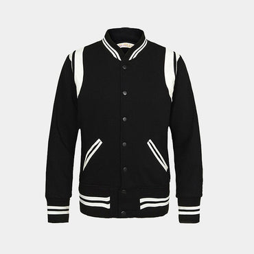 Uniform Collar Casual Baseball Bomber Jacket