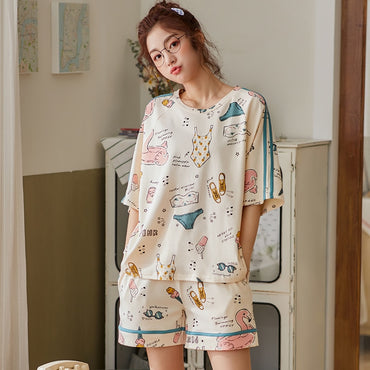 Cute Cartoon Lounge Sets Homewear