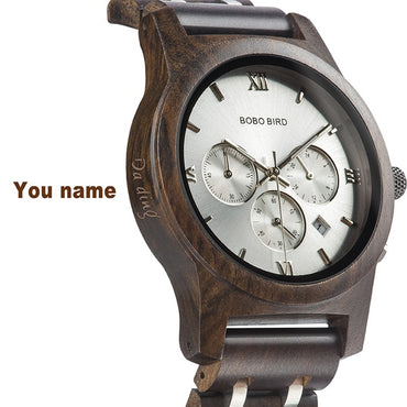Customized Name Wrist watches