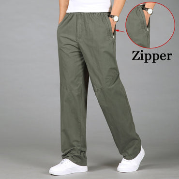 Casual Cotton Long Pants
