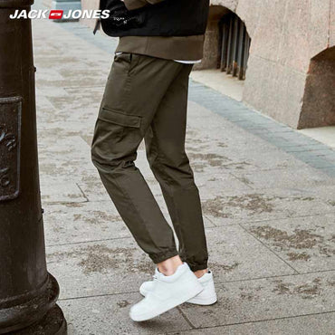 Cargo stretch casual pants