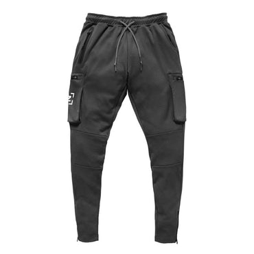 jogging pocket design sweatpants