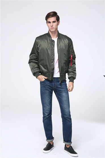 Military tactical Male Army Bomber Jacket