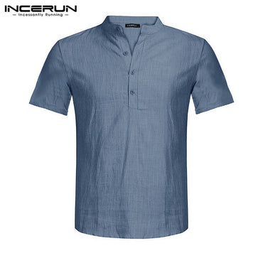 Short Sleeve Slim Fit Social Business Shirt