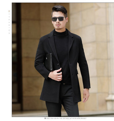 Double Sided Wool Coat