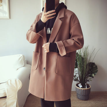 New Oversize Long Coat