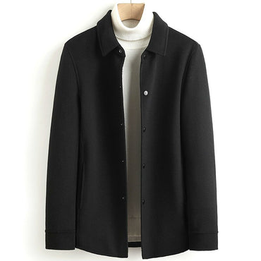 Casual Double-sided Wool Coats