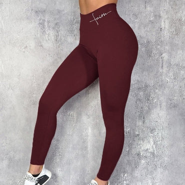 Push Up Workout Slim Leggings