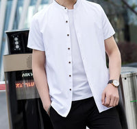 Collar Short Sleeve Shirt