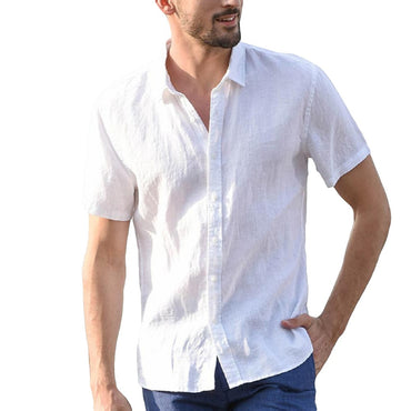 Cotton Daily Casual Short sleeve Shirt